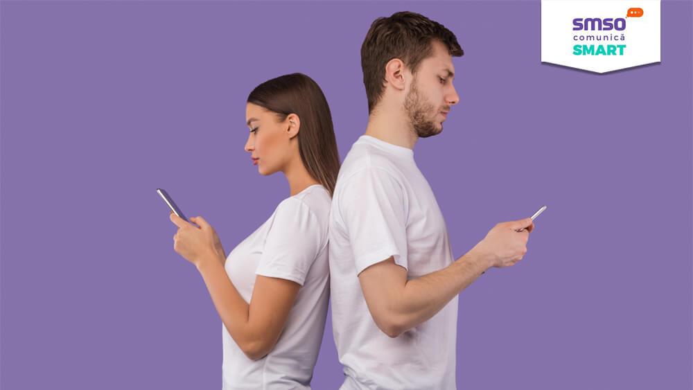 Clienți care comunică cu brandul lor preferat prin intermediul 2 Way SMS
