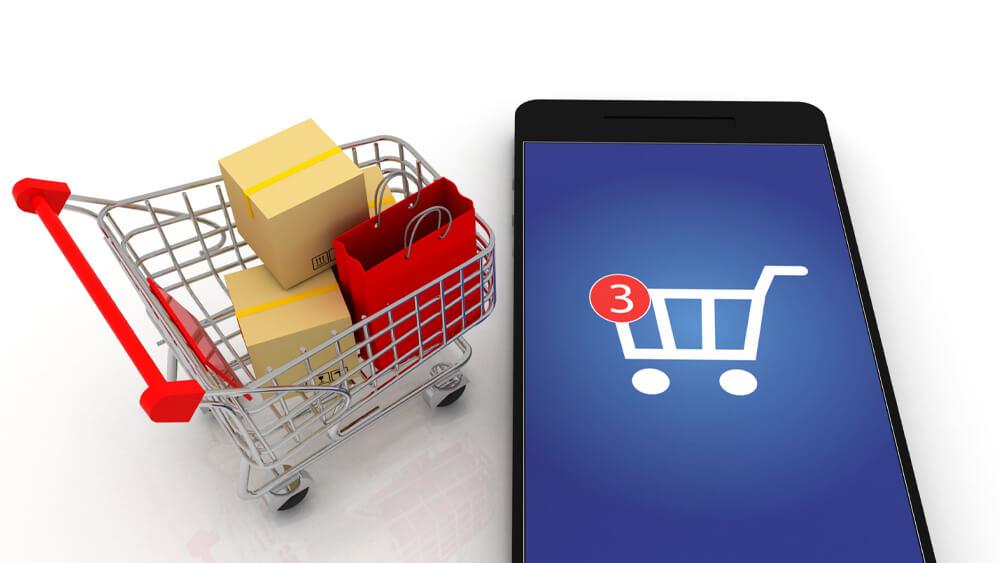 ilustrație care arată că serviciile 2 Way SMS te pot ajuta să recuperezi coșurile de cumpărături abandonate