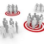 Ilustrație care arată selecția grupurilor țintă