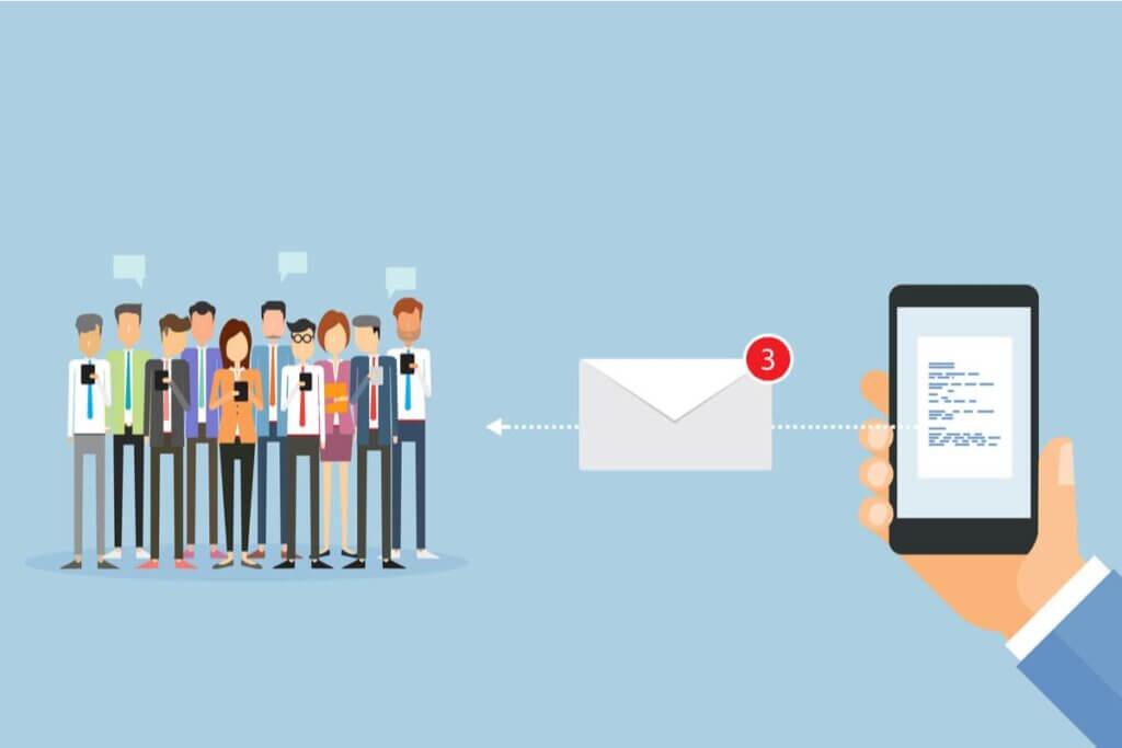 Ilustrație a unui concurs prin SMS