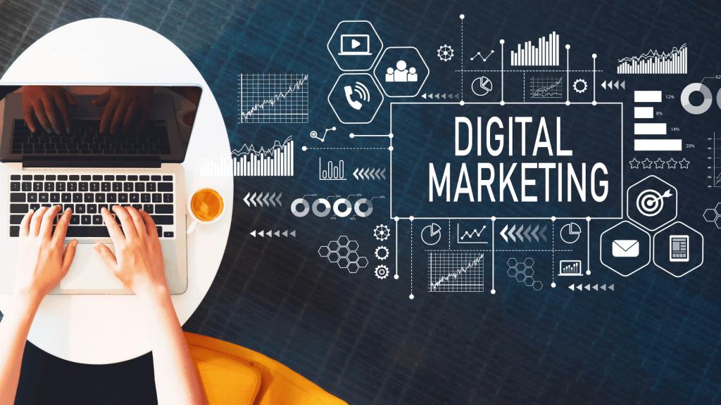 Ilustrație despre marketing digital
