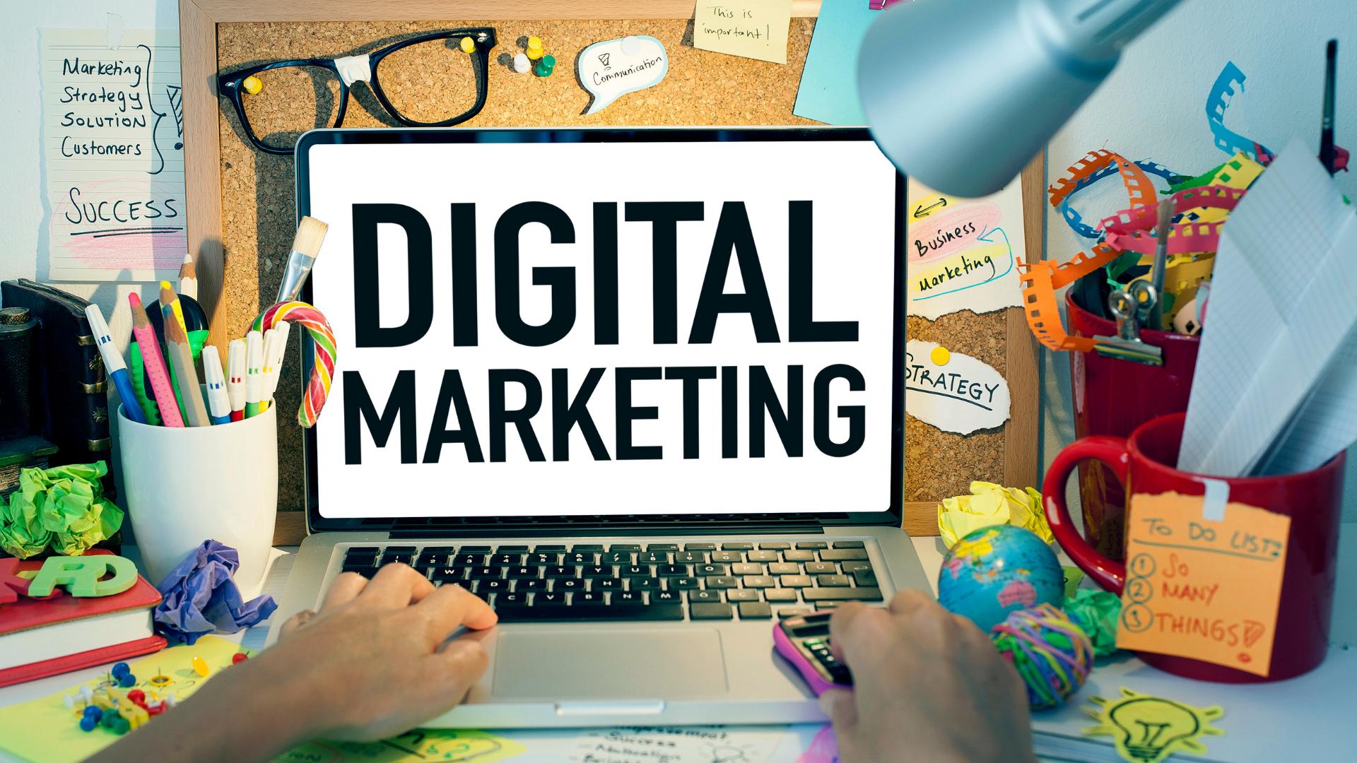 Ilustrație digital marketing