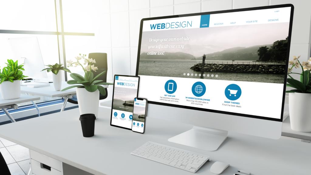 Device-uri care conțin ilustrații specifice web design